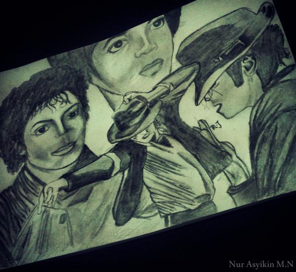 Michael Jackson by asyikin